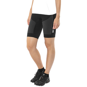 X-Bionic W's Speed Evo Running Pants Short Black/Anthracite